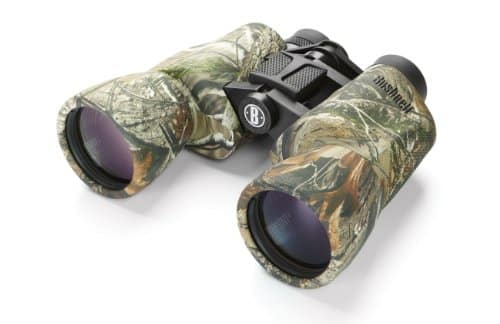 Bushnell Power View 10* 50 MM Porro Prism Instafocus Binoculars, Realtree AP.