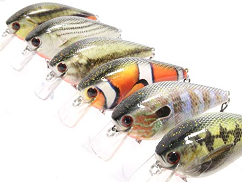 wLure Minnow Crankbait for Bass Fishing Bass Lure Fishing Lure.