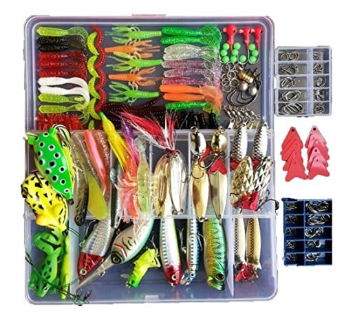 Smartonly 275pcs Fishing Lure Set.