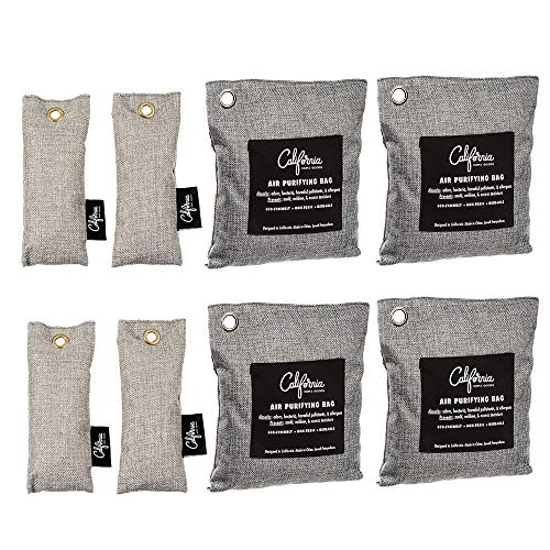 Bamboo Odor Eliminator Bags (8 Pack)
