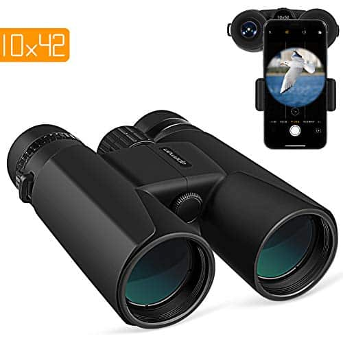 APEMAN 10*50 HD Binoculars for Adults with Low light vision.