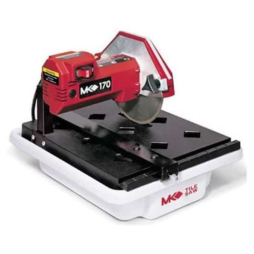 MK Diamond 157222 MK-170 7-inch Belt Wet Tile Cutting Saw