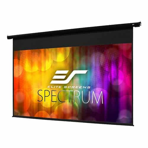 Elite Screens Spectrum Motorized Electric Projector Screen with Multi-Aspect Ratio Function 8k/4k Ultra HD Ready Projection, ELECTRIC84H
