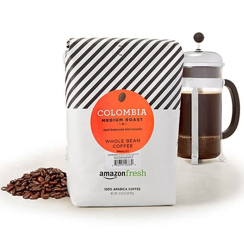 AmazonFresh Columbian Whole Bean Coffee