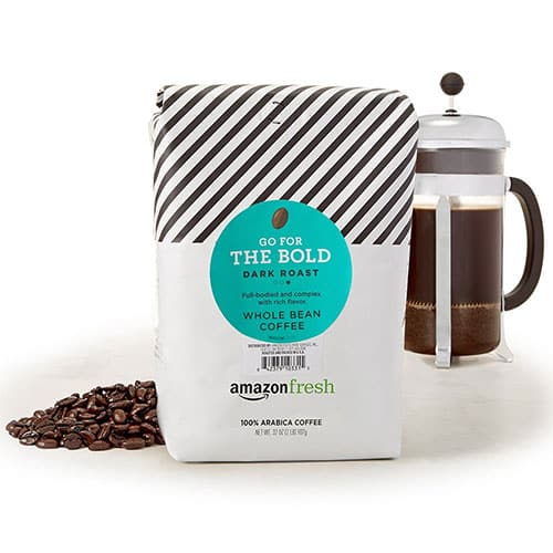 Amazonfresh Dark Roast Whole Bean Coffee