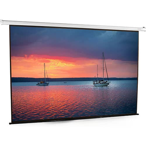 VIVO 100 inch Electric Motorized Projector Screen | 100-inch Diagonal Auto with Remote 4:3 Projection HD (PS-E-100E)