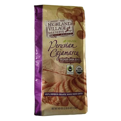 Highland Village Reserve Whole Bean Coffee