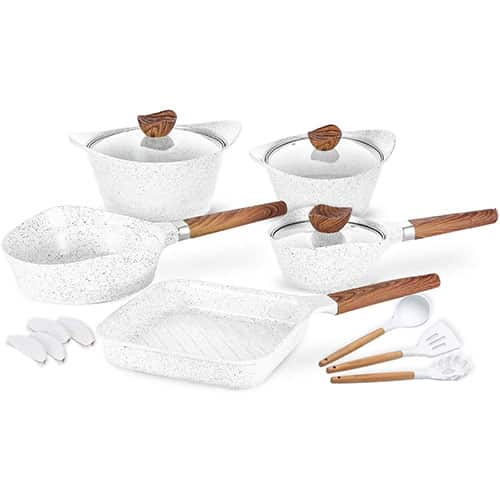 Non-stick Cookware Set Dishwasher Safe