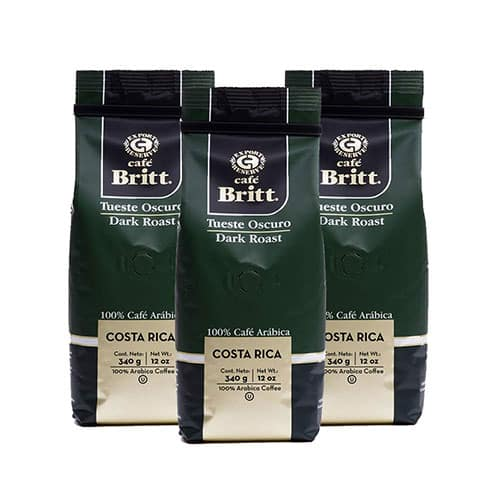 Café Brit – Costa Rican Dark Roast Coffee