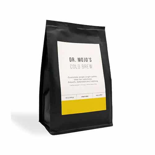 Cold Brewed Coffee Beans, Medium Roast, Whole Bean Coffee Dr Mojo Coffee Roasters