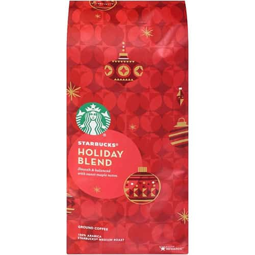 Starbucks Coffee – 2019 Holiday Blend or Christmas Blend Coffee
