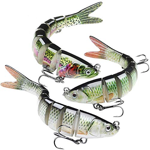 GOTOUR Bass Fishing Lures, Topwater Swimming Lure