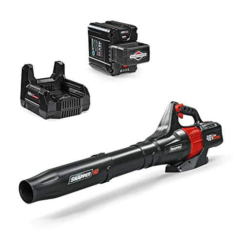 Snapper HD 48V MAX Cordless Electric 450 CFM Leaf Blower Kit