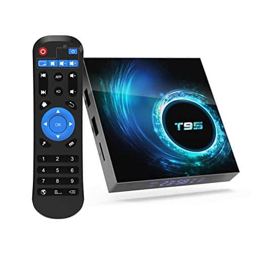 YAGALA TV Box, T95 Android 10.0 Smart Box 4GB RAM 32GB eMMC