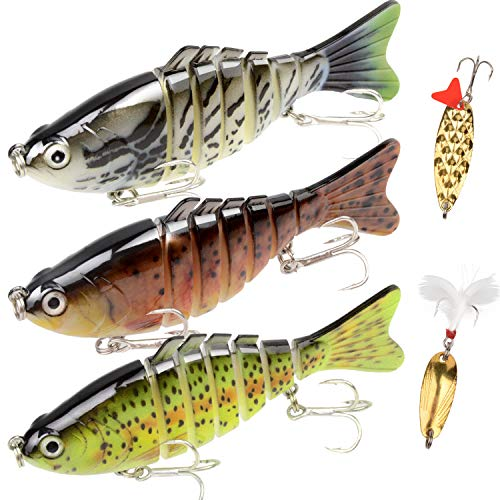 SZJP Fishing Lures for Bass