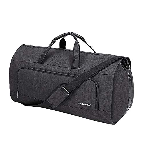 Canway Large Travel Duffel Bag with Shoes Compartment