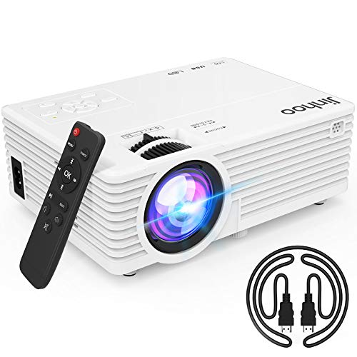 2020 Latest Projector, Mini Video Projector with 5500 Brightness