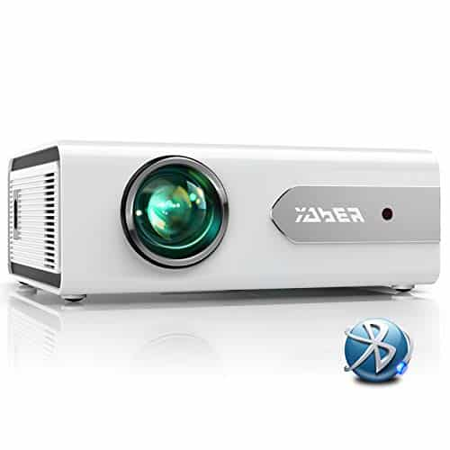 YABER V3 Mini Bluetooth Projector 5500L Full HD 1080P and Zoom Supported