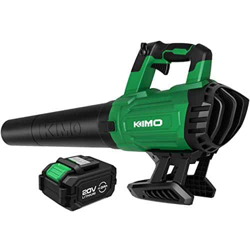 KIMO 20V 400CFM Handheld Leaf Blower Sweeper Kit